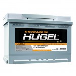 Акумулатор HUGEL 12V 55Ah 460A  R+